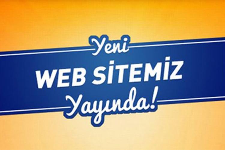 Web Sitemiz Yayında!
