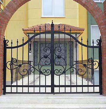 Bahçe Giriş Kapısı